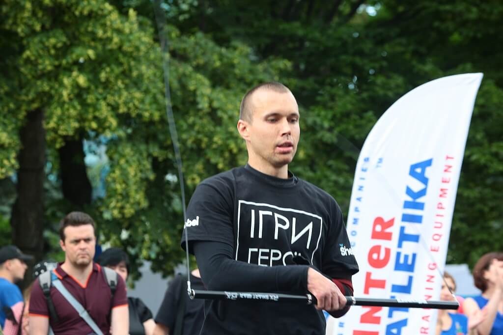 "GC ""InterAtletika"" became a partner of all-Ukrainian competitions ""Games of Heroes"""